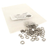 Image of Nickel Silver Jump Rings - 100 Pack