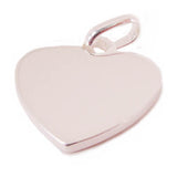 Closeup of Heart Shaped Pendant