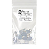 Sterling Silver Jewelry Tag G - 100 Pack