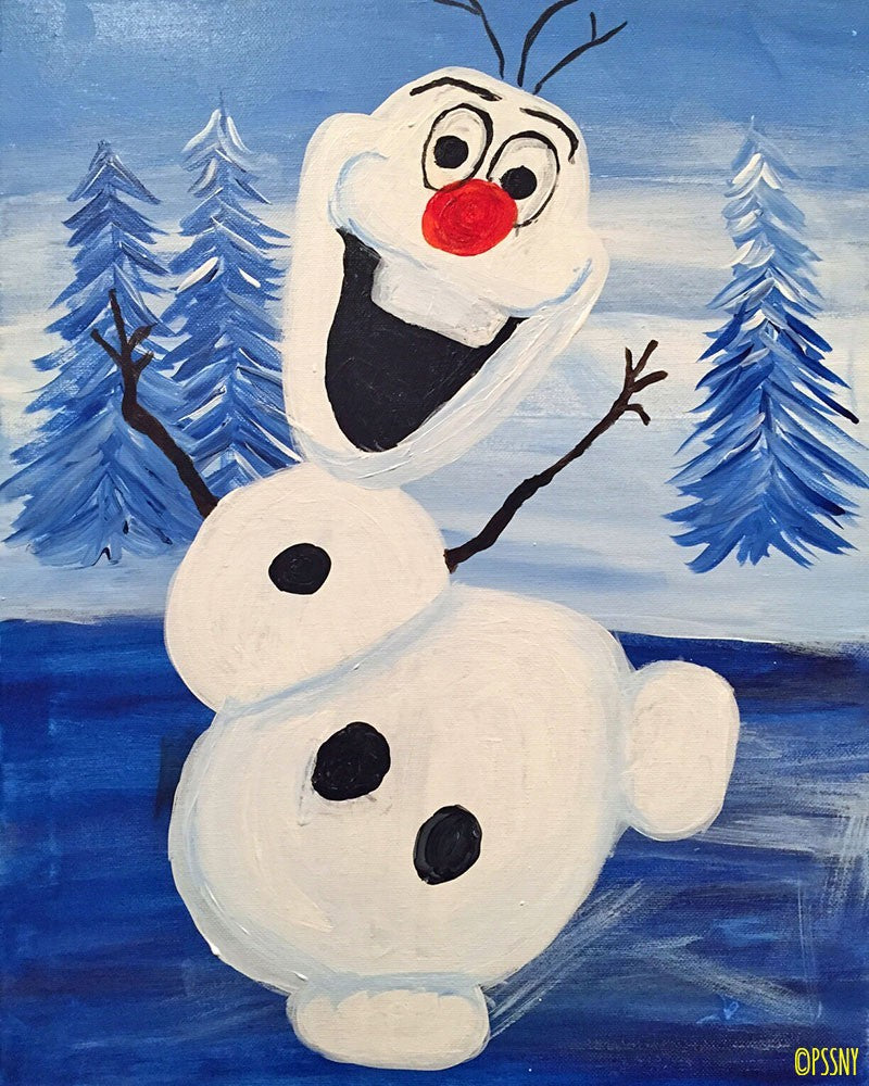 Happy Snowman! - Supplies Included