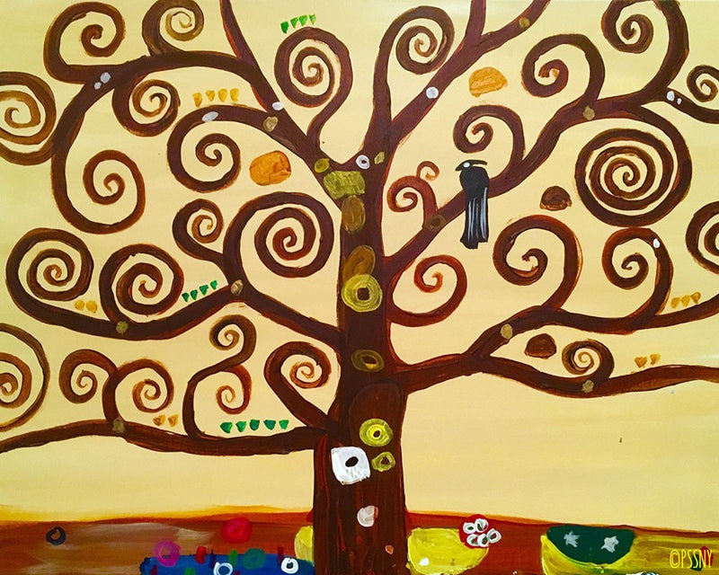 Tree of Life (Klimt) - Supplies Included