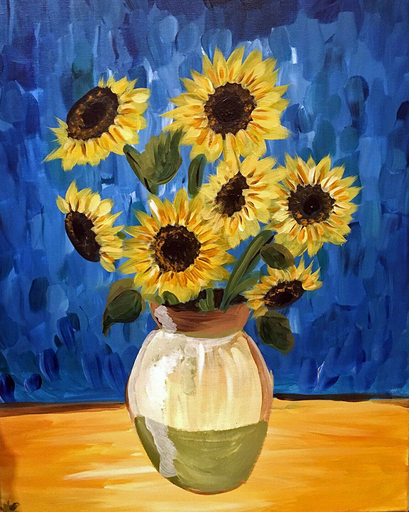 Van Gogh Sunflowers - Supplies Included