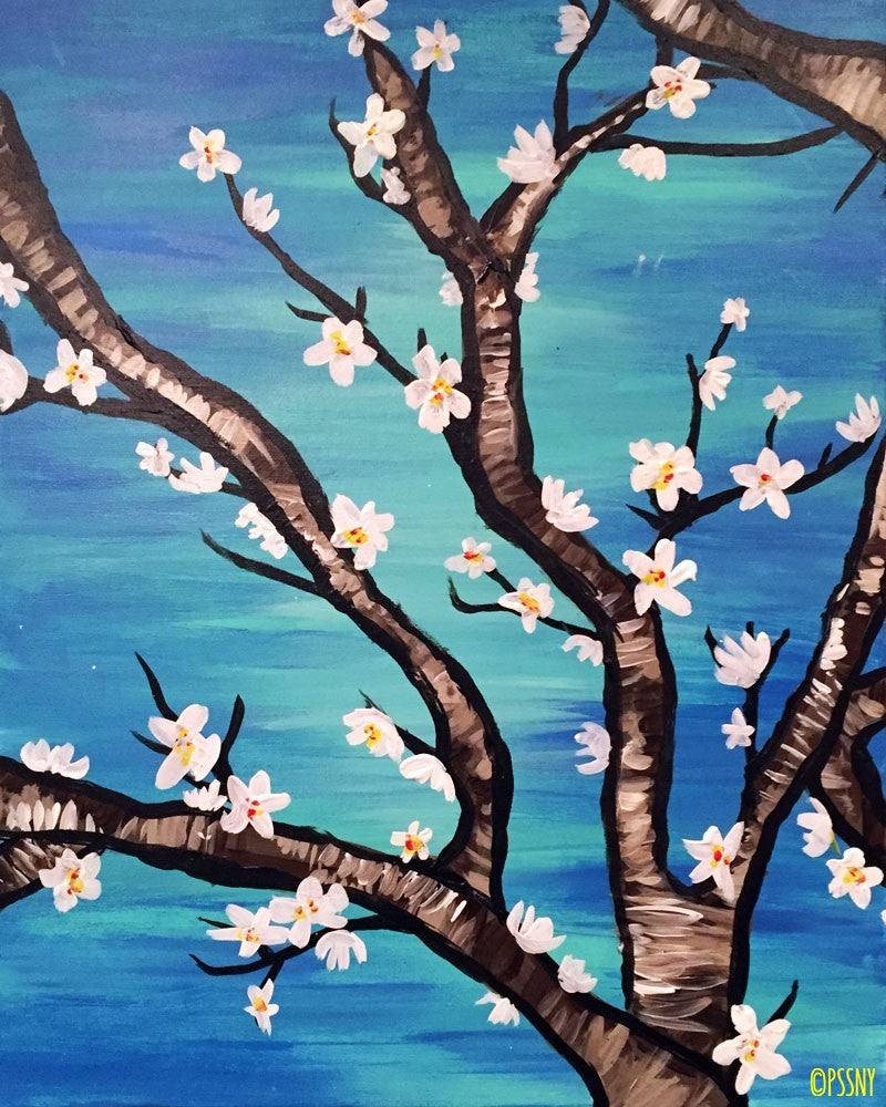 Van Gogh's Almond Blossom - Supplies Included