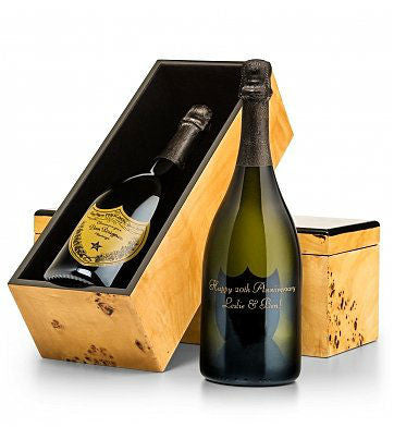 Engraved Dom Perignon Champagne Celebration
