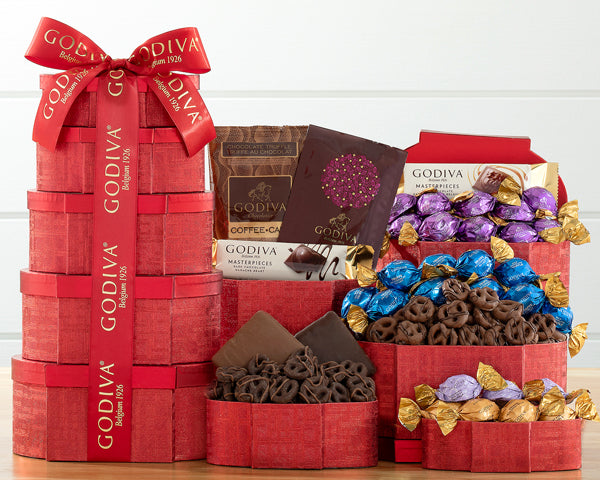 3081-godiva-red-and-gold-valentines-chocolate-tower-thankfully-yours