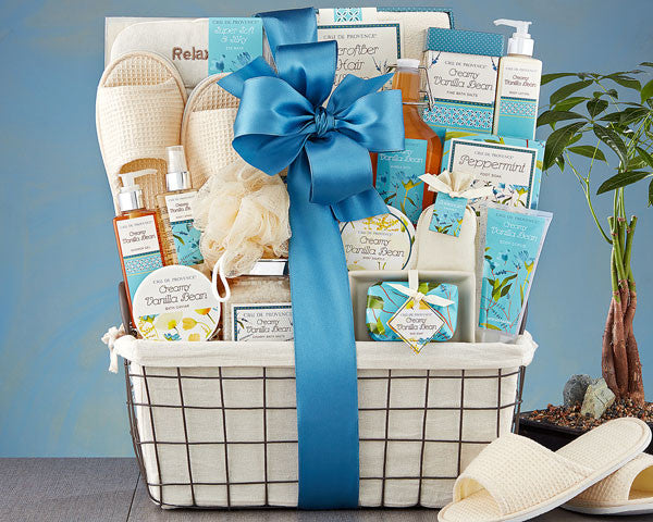 581 Vanilla Bliss Spa Experience Gift Basket