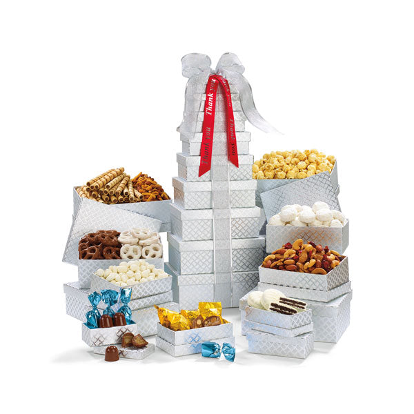 88097-shimmering-office-party-treats-thankfully-yours-holiday-gourmet-gift-tower