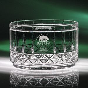 J Charles Crystal Works Concerto Bowl