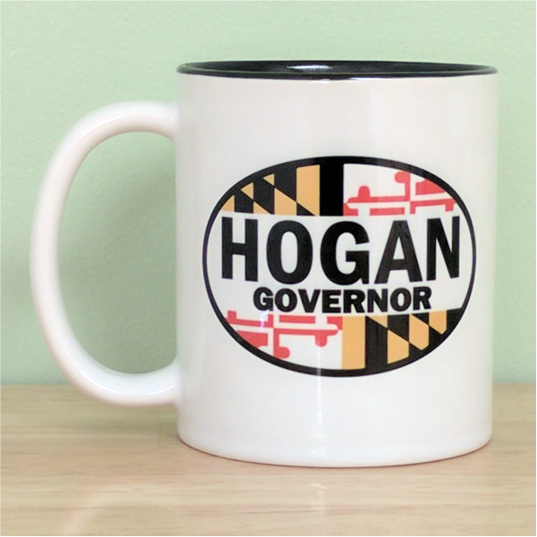 Coffee Mug - Hogan Governor Oval
