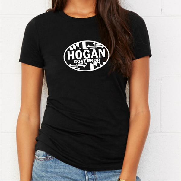 T-Shirt - Hogan Governor Oval Women's