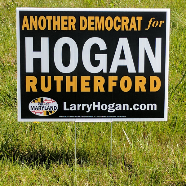 Yard Sign - Another Democrat