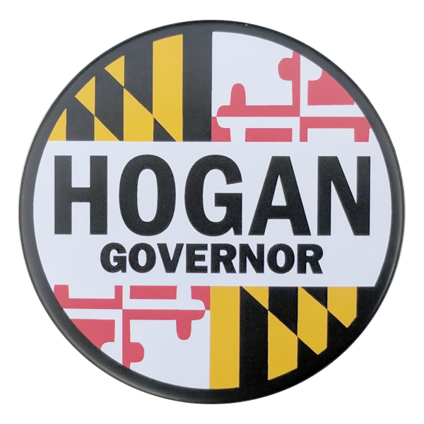 Button - Hogan Governor 3""