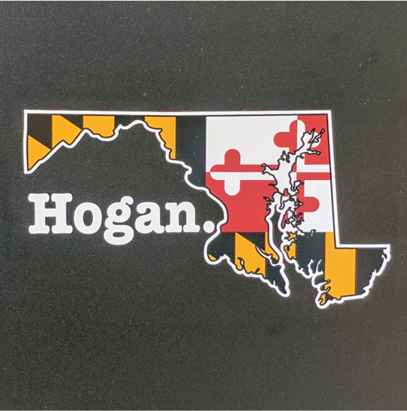 Decal - Hogan. Full Color