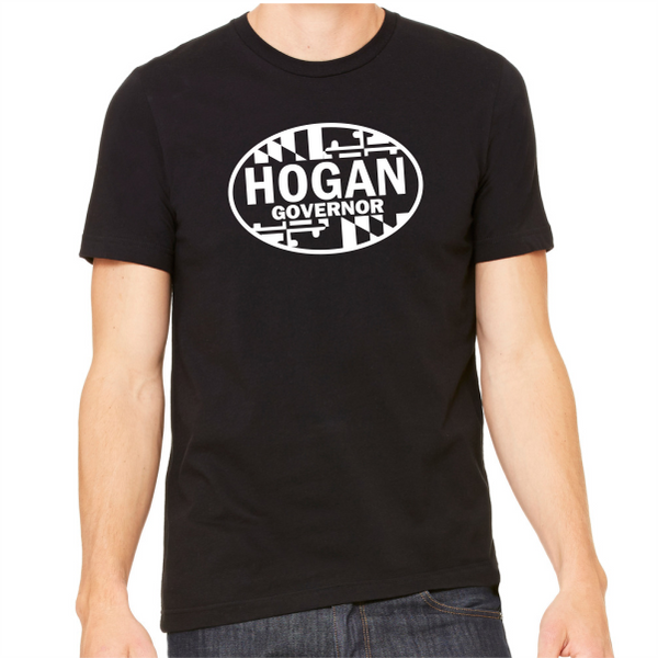 T-Shirt - Hogan Governor Oval