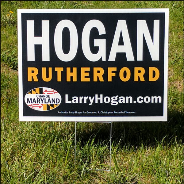 Yard Sign - Official Hogan Rutherford