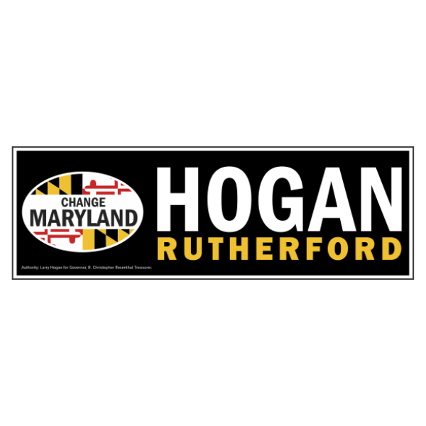 Bumpersticker - Classic Hogan Rutherford