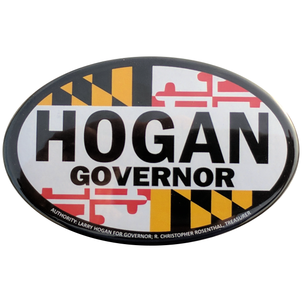 Button - Hogan Governor Oval