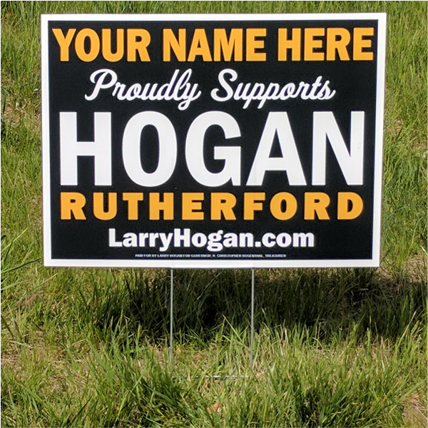 Yard Sign - Personalized
