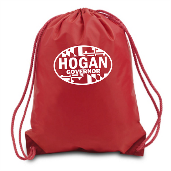 Drawstring Backpack - Hogan Governor Oval