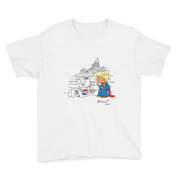 """How a Bill now becomes a Law"" Youth Short Sleeve T-Shirt"