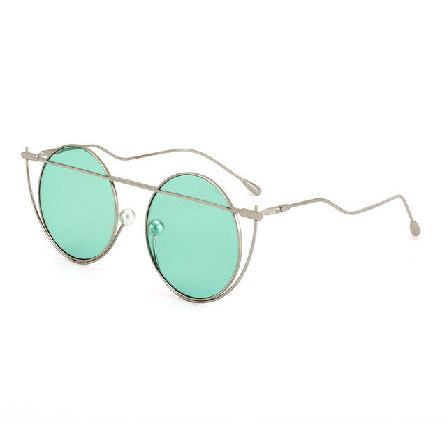 Unique Round Women Sunglasses