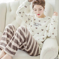 Winter Warm Pajamas