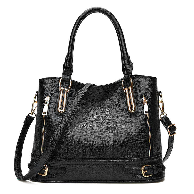 Women Genuine Leather Handbags Messenger Bags