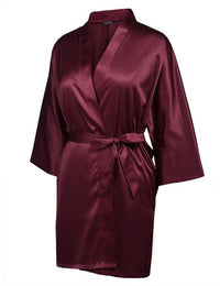 Women Plus Sizes Kimono Bathrobe