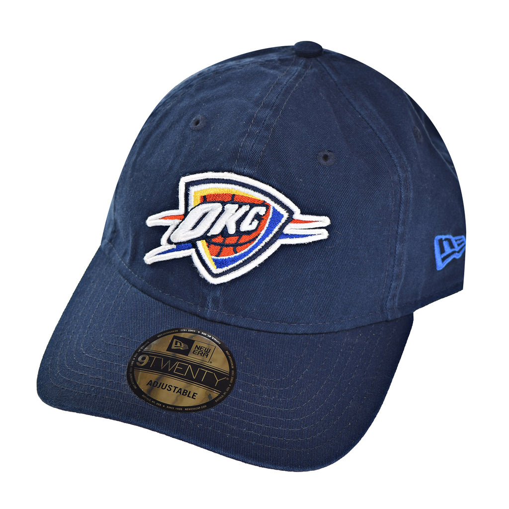 lowest price b3cc5 b7d54 New Era Oklahoma City Thunder Core Classic TW Men s Strapback Hat Cap Blue