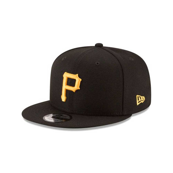New Era 9fifty Pittsburgh Pirates MLB Men's Snapback Hat Black