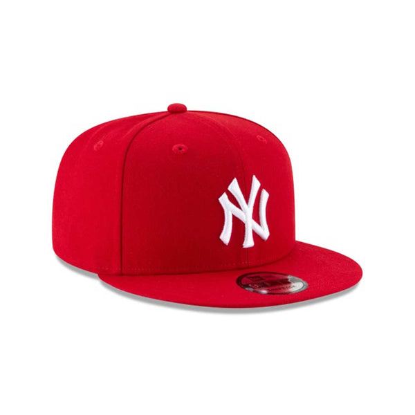 New Era 9Fifty New York Yankees Basic Scarlet Men's Adjustable Hat Red