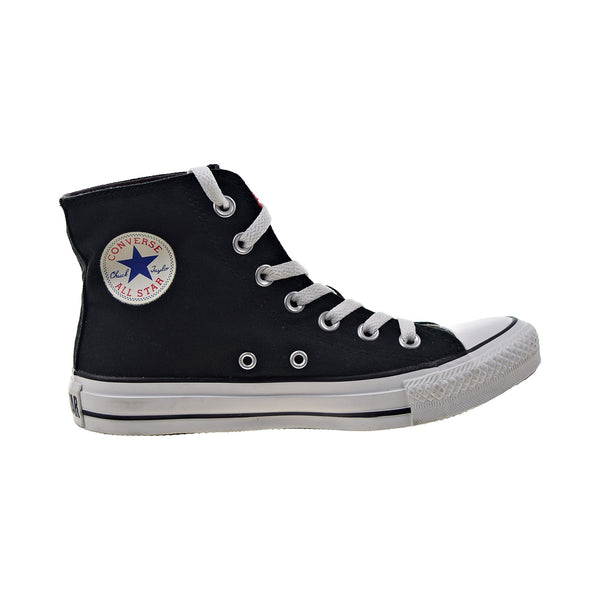 Converse Chuck Taylor Two Fold Hi Big Kids' Shoes Black-Cherry
