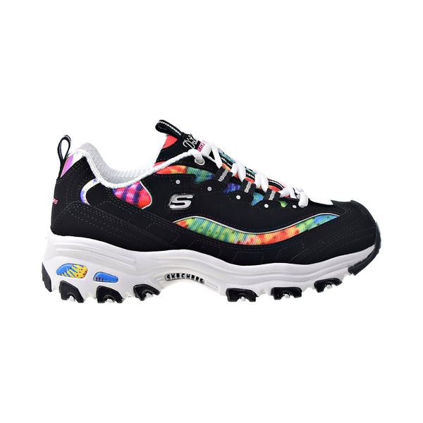 Skechers D'Lites-Summer Fiesta Women's Shoes Black-Multi