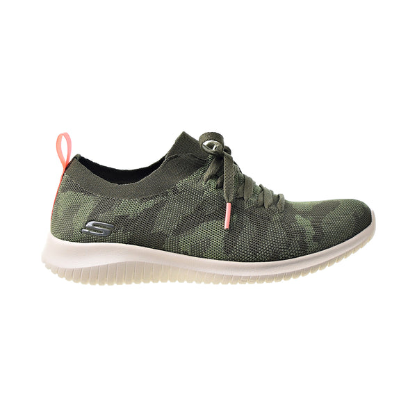 Skechers Ultra Flex Wild Pursue Women's Shoes Olive