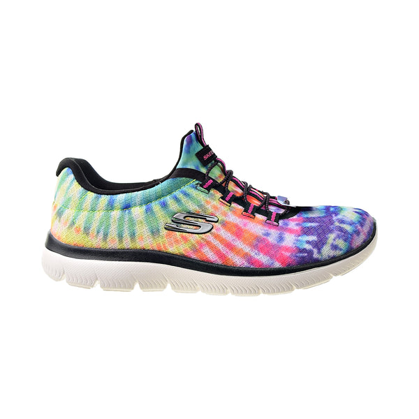 Skechers Summits Looking Groovy Women's Shoes Black-Multi