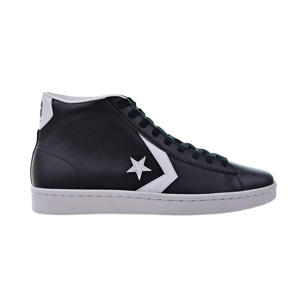 Converse Pro Leather 76 Mid Men's Shoes Black-White
