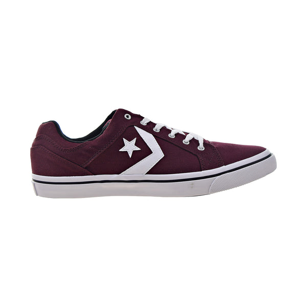 Converse El Distrito Ox Men's Shoes Deep Bordeaux-White-Black