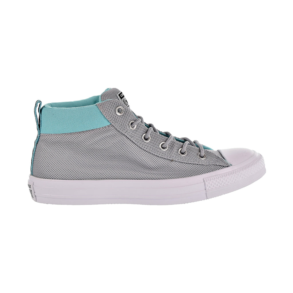 Converse Chuck Taylor All Star Street Mid Unisex Shoes Grey/Bleached Aqua/White