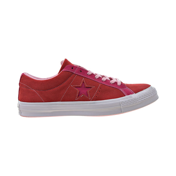 Converse One Star Ox Men's Shoes Enamel Red-Pink