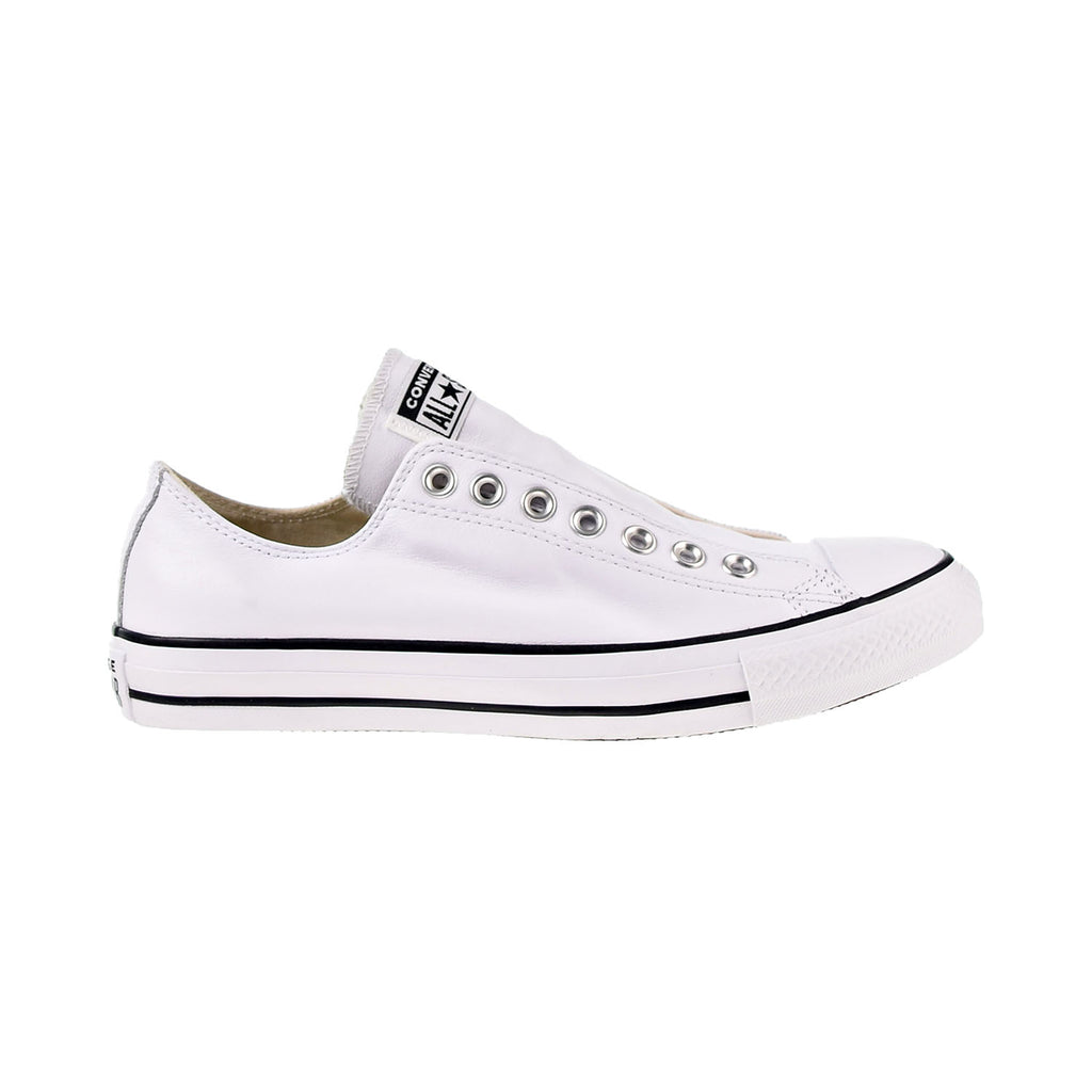 Converse Chuck Taylor All Star Leather Slip Men's Shoes White-Black