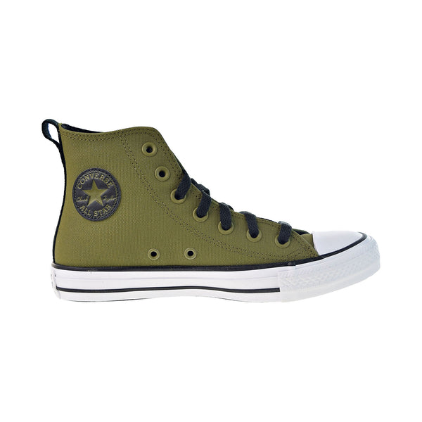 Converse Chuck Taylor All Star Hi Men's Shoes Dark Moss-White-Black