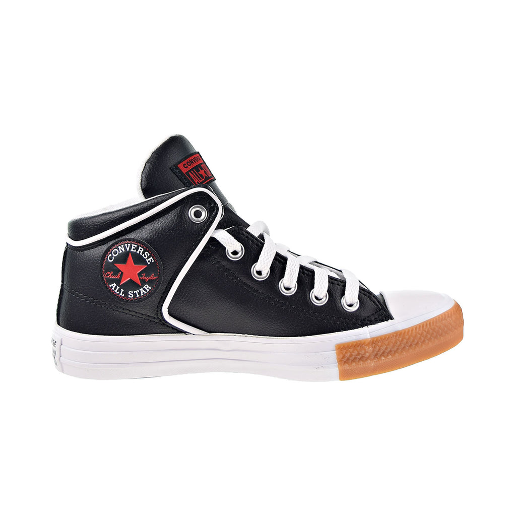 Converse Chuck Taylor All Star Street Men's Shoes Black-University Red