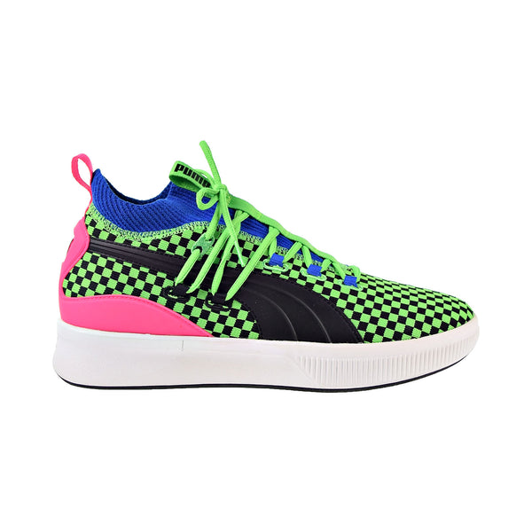 Puma Clyde Court Summertime Canvas Athletic Men's Basketball Shoes Green