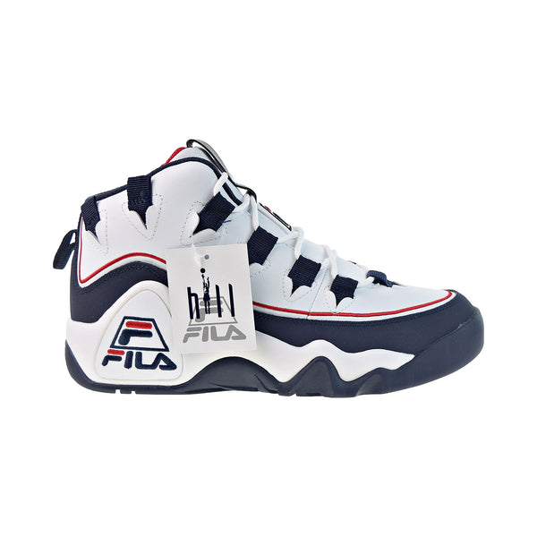 Fila Grant Hill 1 Offset Men's Shoes White-Navy-Red