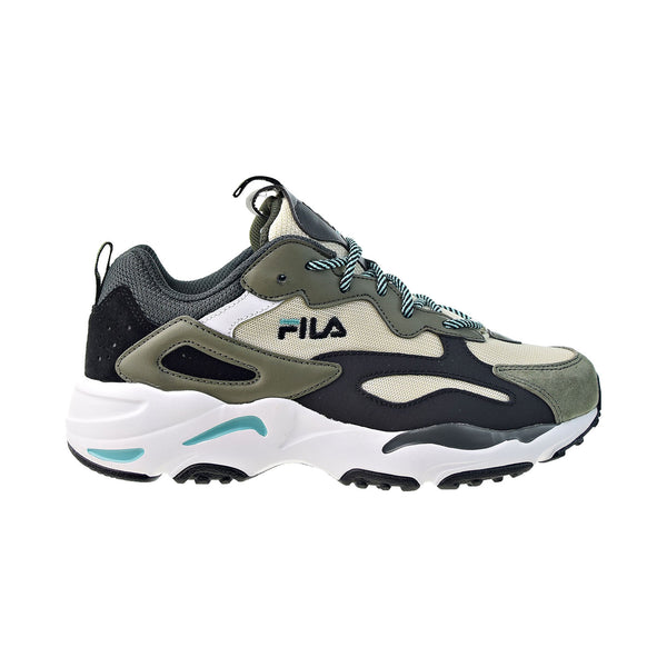 Fila Ray Tracer Men's Shoes Tdov-Black-Bqts