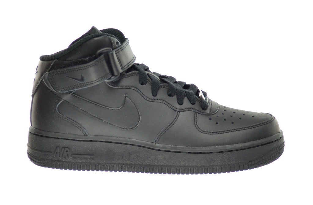 Nike Air Force 1 Mid (GS) Big Kids Sneakers Black