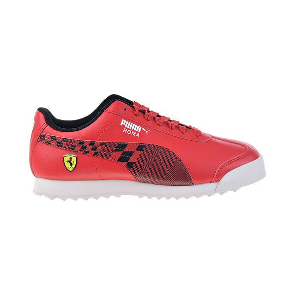 Puma SF Roma JR Big Kids' Shoes Rosso Corsa-Puma Black