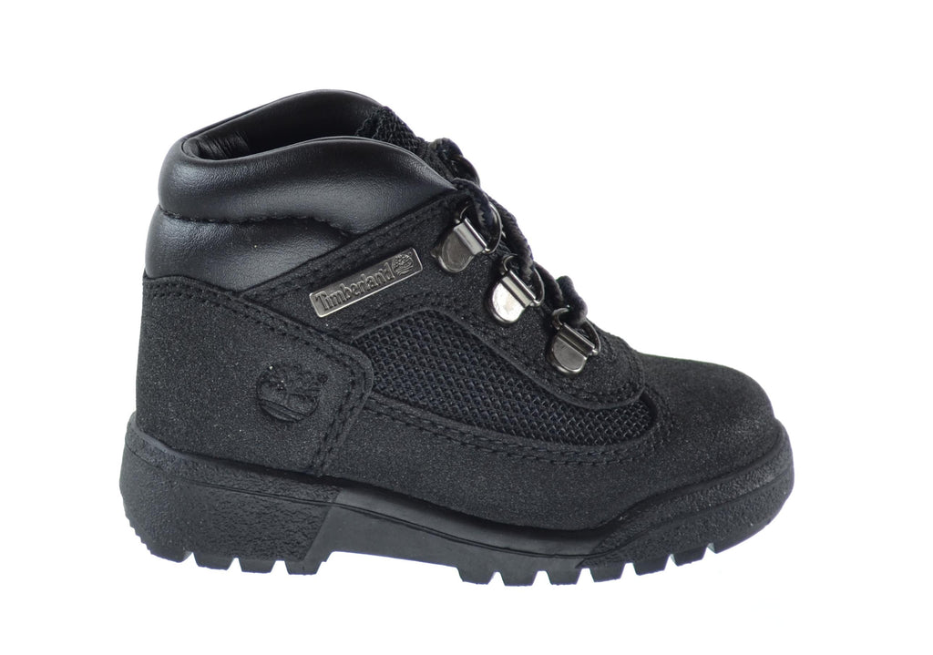 Timberland Baby Toddlers Waterproof Scuffproof Field Boots Black
