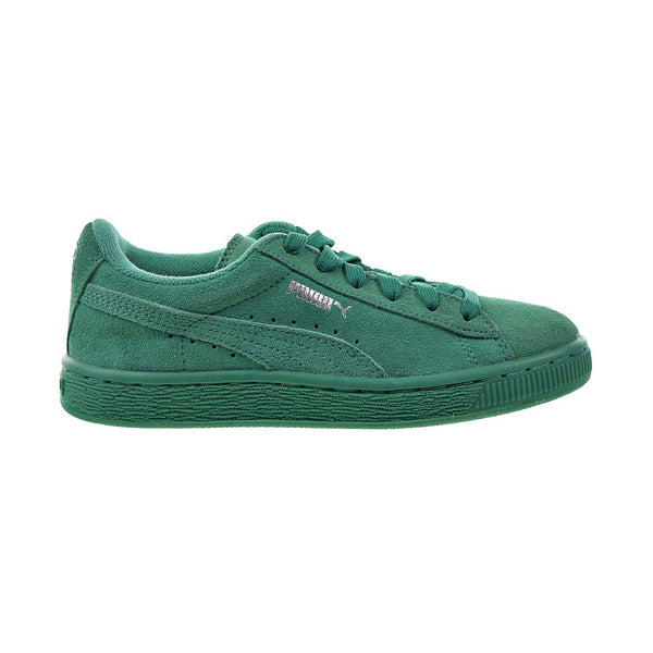 Puma Suede Little Kids' Shoes Simply Green