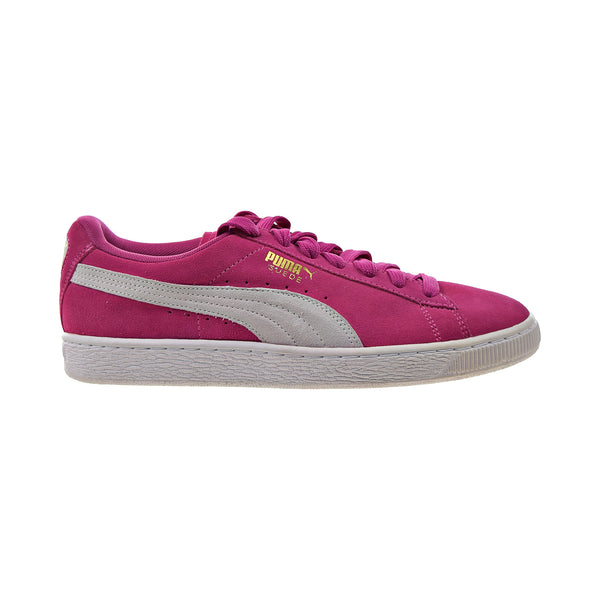 Puma Suede Classic Women's Shoes Fuschia Purple-White
